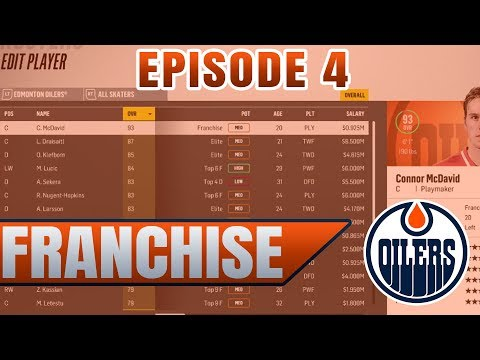 3 POINT SEPARATION FOR A PLAYOFF SPOT | NHL 18 Edmonton Oilers GM / Franchise Mode Ep. 4
