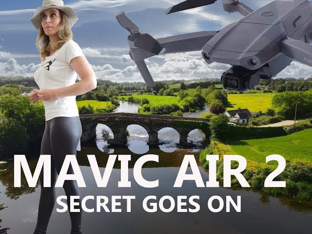 DJI Mavic Air2 Secret goes on and flying in D-Cinelike, 4k 24fps