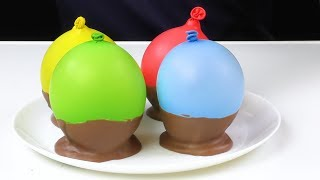 Chocolate BALLOON BOWLS Cake Decorating