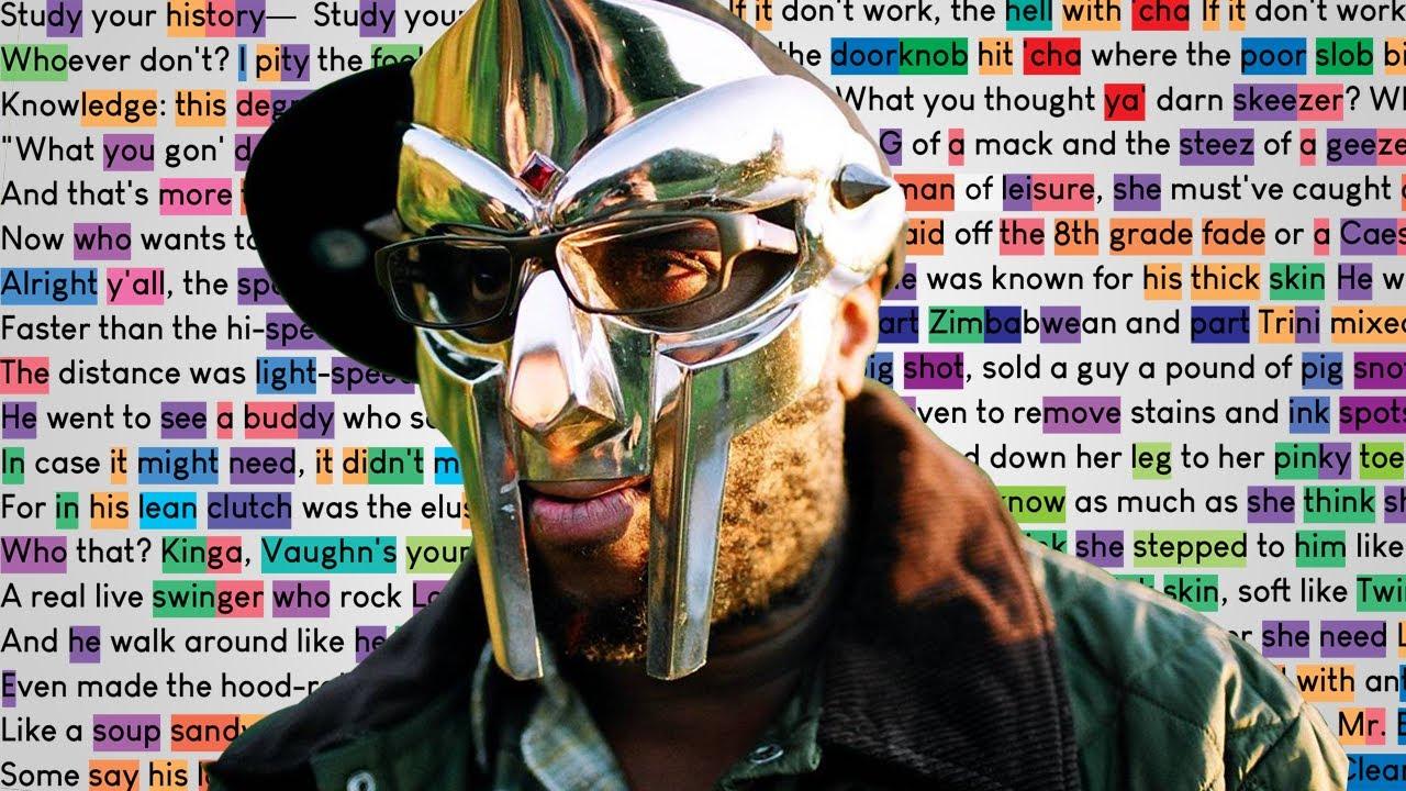 MF DOOM - Mr. Clean   Rhymes Highlighted