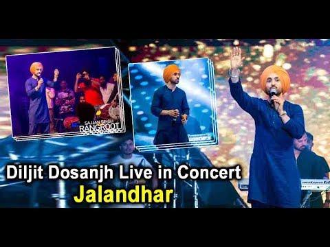 Diljit Dosanjh : Live In Concert Jalandhar | Full Show | Dainik Savera