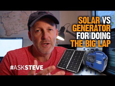 Solar VS Generator For Doing The Big Lap | AskSteve 006