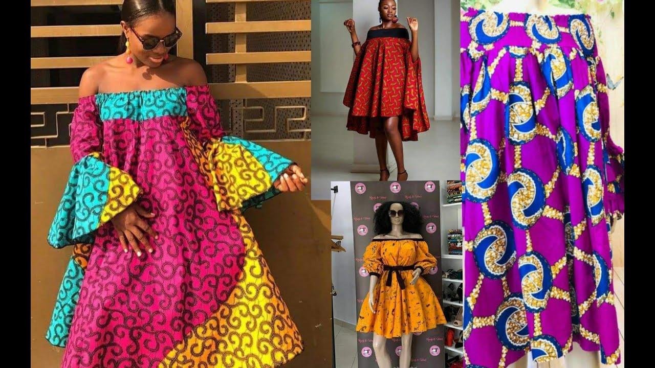 Modele Robe Pagne 20 Jeune Fille Cameroun  Les Plus Beaux ...