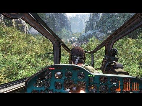 МИССИЯ НА ВЕРТОЛЕТЕ Call Of Duty Black Ops - прохождение миссии  Месть (часть 2)