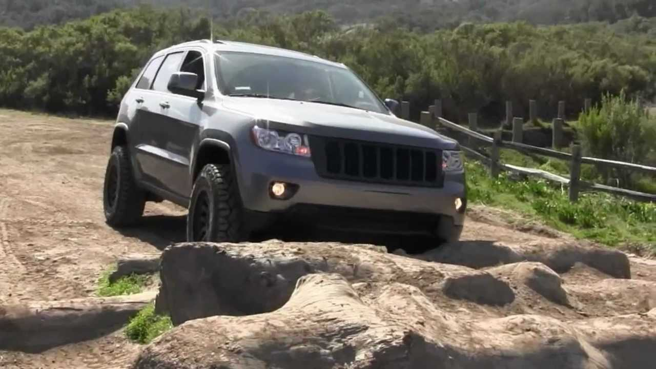 2012 Jeep Wk2 Gc Testing Out My New Mall Crawler Youtube