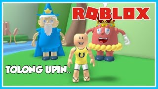 THE EVIL CANDY KING'S STORY!! -ROBLOX UPIN IPIN