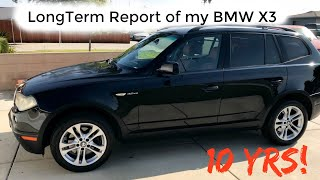 BMW X3 long Term Report.