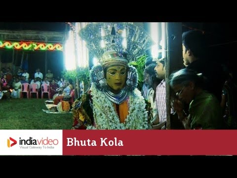Bhuta Kola - ritual dance form of Tulu Nadu, India | India Video