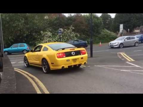 Kent Mustang Owners Club Member leaving the event...