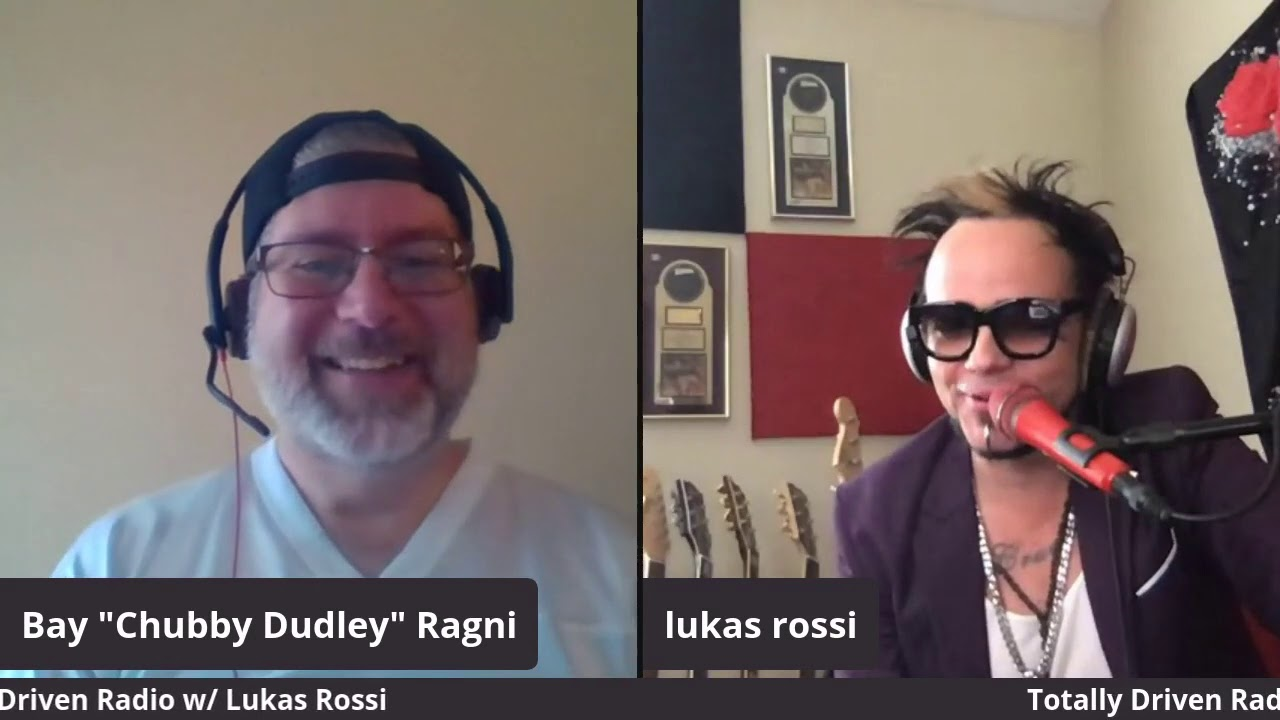 Totally Driven Radio #341 w/ Lukas Rossi (Rockstar Supernova / Stereo Satellite)