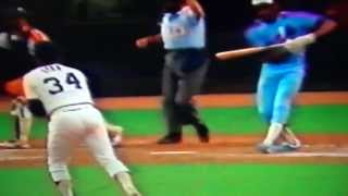 Nolan Ryan Strikes Out Andre Dawson For 3,500 K