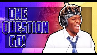 KSI ONE QUESTION GO   FUNNY MOMENTS