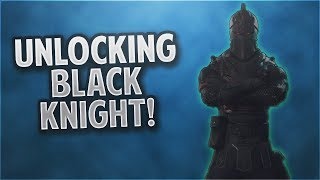 UNLOCKING THE BLACK KNIGHT! FORTNITE BATTLE ROYALE!