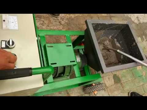 screw-type cement grouting pump mortar pump working video