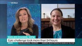 English Channel Swim: Sarah Thomas, Swimmer