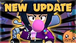 NEW BRAWLER: Bibi - New Push-back Mechanic! - EVERYTHING IN THE UPDATE 🍊