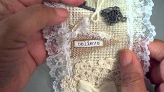 Vintage Lace Snippet Roll For Teresa - Ypp
