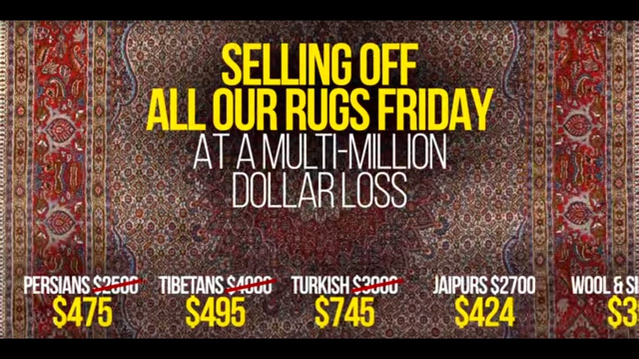The Oriental Rug Market Has Crashed YouTube