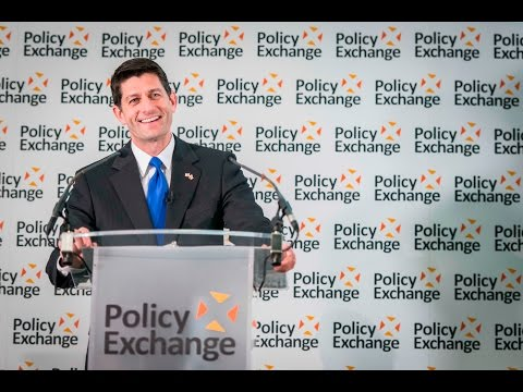Speaker Ryan's Remarks at Policy Exchange in London