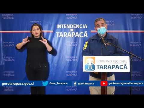 Punto de prensa 17 de julio de 2020 - Gobierno Regional de Tarapacá