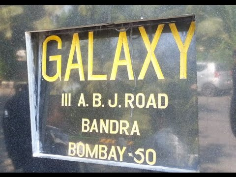"Salman Khan House ""Galaxy Apartments"" Bandstand, Bandra, Mumbai"