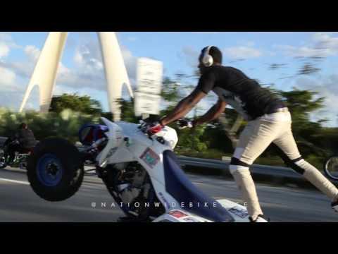 MLK Ride Out 2017 Miami Bikelife (PoloKing, Miami Skeet and Bikelife Grape)