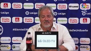 Rueda de prensa de Antonio Iriondo tras el CF Rayo vs Córdoba CF (0-0)
