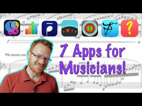 Top 7 Apps For Musicians!