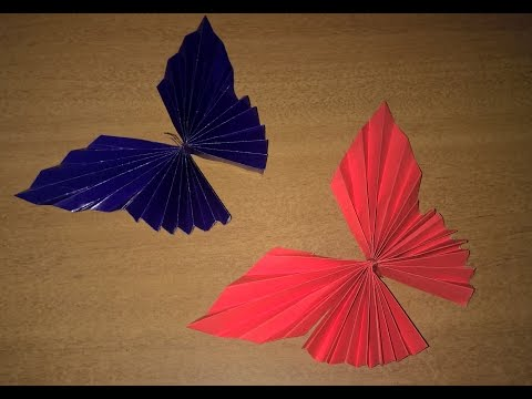 How To Make A Paper Butterfly |How To Decorate Project file and Walls