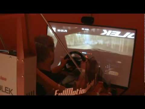 Henning Solberg WRC Focus G-Force Dynamics 301 Sim with RBR