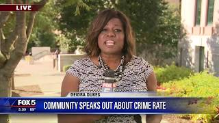 Community speaks out about Atlanta's crime rate