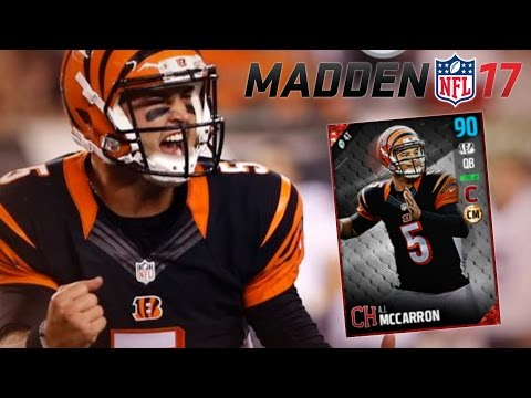 MUT 17 | A.J. McCARRON IS A FREAKING BEAST!! | MADDEN 17 ULTIMATE TEAM