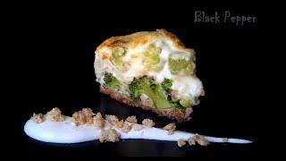 Гратен с брокколи и цветной капустой | Шеф Black Pepper