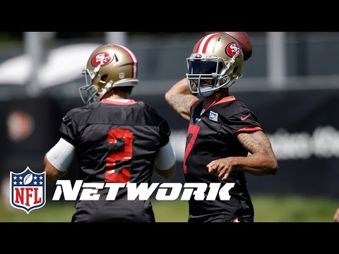 Blaine Gabbert is a Heavy Favorite in San Francisco | Michael Silver Minicamp Report | NFL Network