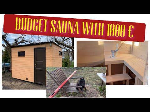 How To Build Sauna Outdoor