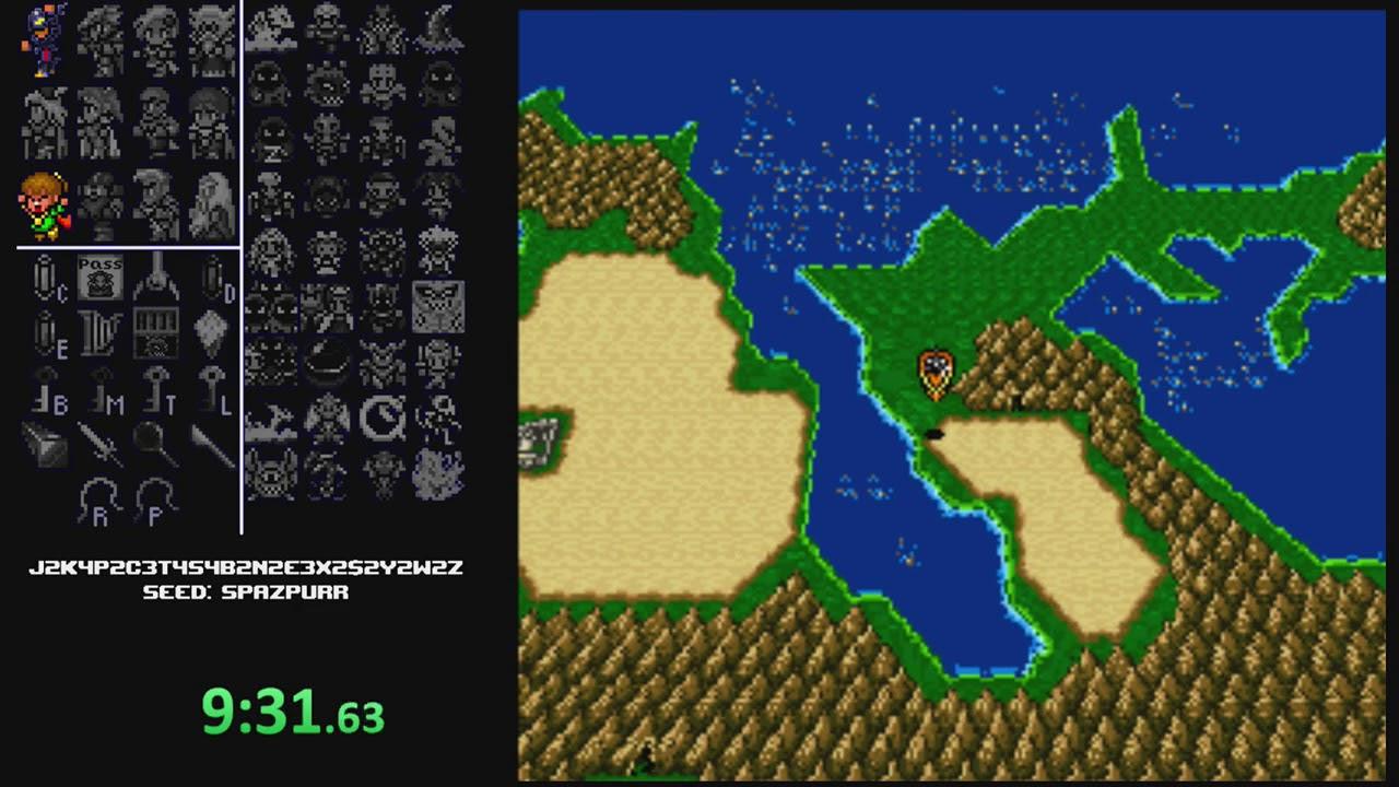 Final Fantasy IV Free Enterprise Randomizer Run #33