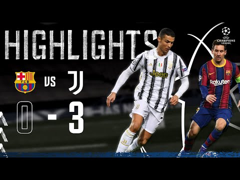 Barcelona 0-3 Juventus | Ronaldo & McKennie Seal Top spot in Camp Nou! | Champions League Highlights