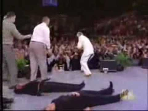 Benny Hinn   Let The Bodies Hit The Floor By Drowning Pool   YouTube