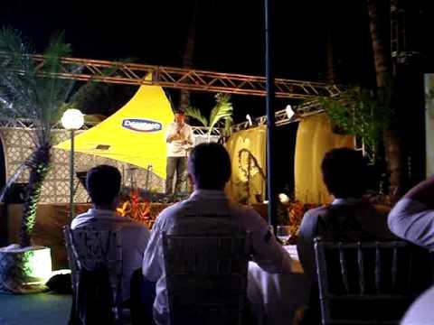 Festa do primeiro ano de producao da Danone em Maracanau-Ce