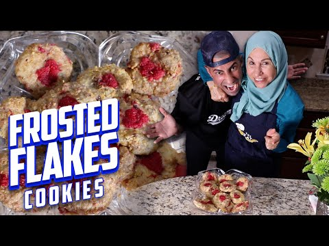 Frosted Flakes Cookies Recipe! (HILARIOUS)