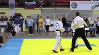 Чемпионат Европы по тхэквон-до ИТФ 2013 (Блэд, Словения) спарринг женщины 51 кг