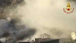 TERREMOTO CENTRO ITALIA  M 6.5 - LA GRANDE SCOSSA IN DIRETTA - 30/10/2016