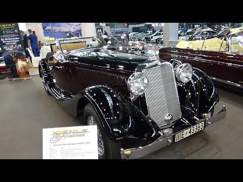 1937 Mercedes-Benz 290 Sport Roadster - Exterior And Interior - Retro Classics Stuttgart 2018