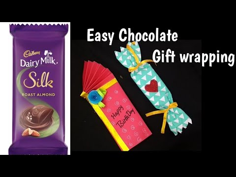 Chocolate Gift Wrapping Ideas For Kids#How To Gift Wrap Chocolate Bars#Chocolate Gift Idea