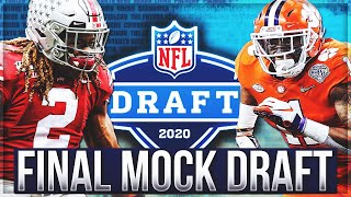 FINAL 2020 NFL Mock Draft