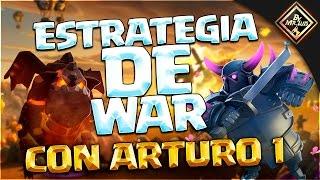LECCION MAGISTRAL DE ESTRATEGIA DE WAR | clash of clans by mr luis