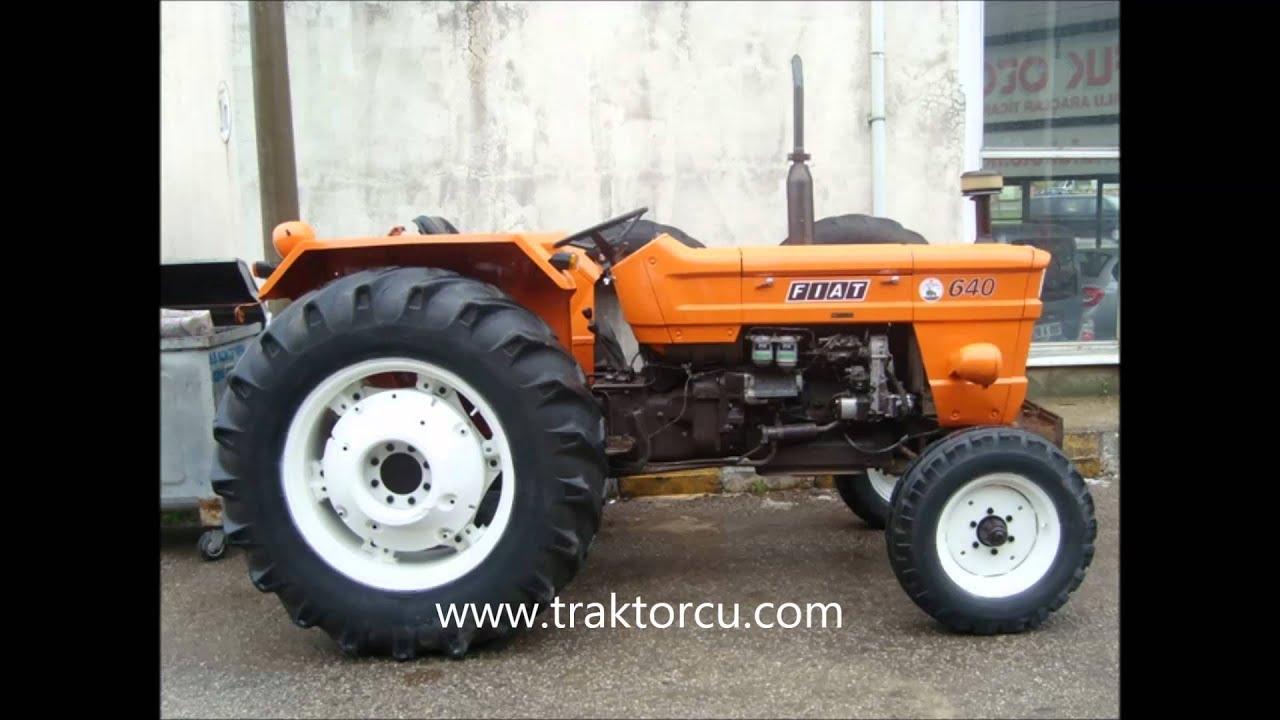 traktörcü   1982 model fİat 640 traktör - youtube