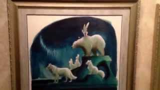 Frozen Fun Art of Snow Queens Gallery Preview POV Walkthrough Davis Elsa Anna Elsa