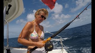 #controltheboat #dragging I PUNCH my wife in the FACE! Sailing Ocean Fox Ep 62