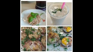 Мое меню на день. Три белковых блюда . Правильное питание. пп.